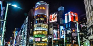 Những khu mua sắm nổi tiếng Tokyo